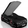 Кровать машина Romack Real-M Ауди А7 черный