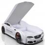 Кровать машина Romack Real-M Ауди А7 белый