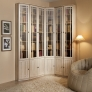 Шкаф для книг Sherlock 311 (орех шоколадный)