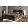 Кровать Джулия МИ 1800 без ламелей (Крафт серый)