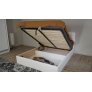 Мягкая кровать Женева 1800 (подъемник) Teos white