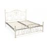 Кровать двуспальная белая «Элизабет» (Elizabeth) + основание