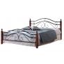 Кровать кованая AT 803 (метал. каркас) + основание 5282