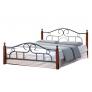 Металлическая кровать AT 808