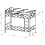Двухъярусная кровать Севилья-2