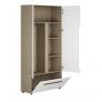 Шкаф 2х створчатый комбинированный Палермо-3 (Палермо Юниор) ШК-016