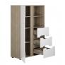 Шкаф 1- створчатый комбинированный Палермо-3 (Палермо Юниор)