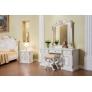Комплект мебели для спальни с 4х ств. шкафом Марокко (крем)