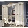 Комплект мебели для спальни Энрике (крем глянец)