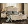 Комплект мебели для спальни Оливия (крем глянец)