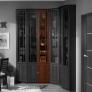 Шкаф для книг Sherlock 31 (орех шоколадный)