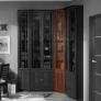 Шкаф для книг угловой Sherlock 33