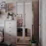 Шкаф для одежды фасад зеркало Paola 54
