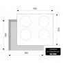 Индукционная варочная поверхность EVI 640-2 BL