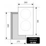 Электрическая варочная панель EVS 320 BL Black