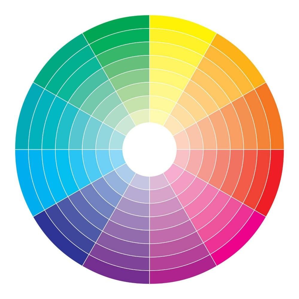 Сочетание цветов в интерьере: основные правила