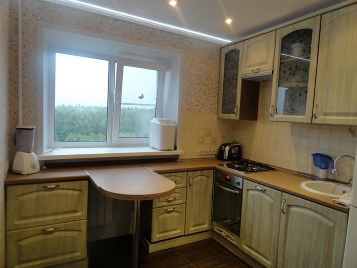 мебель для маленькой кухни фото 10
