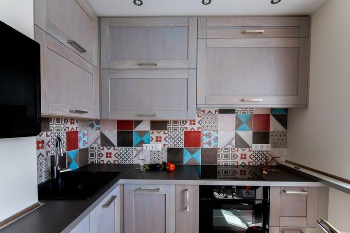 мебель для маленькой кухни фото 12