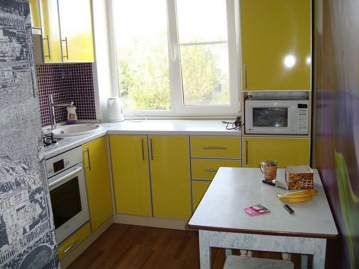 мебель для маленькой кухни фото 13