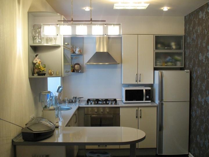 мебель для маленькой кухни фото 14