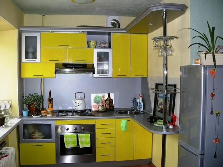 мебель для маленькой кухни фото 2