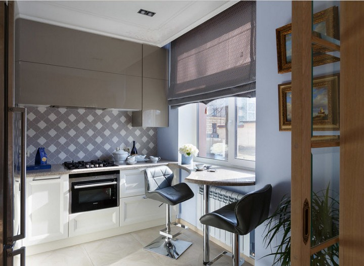 мебель для маленькой кухни фото 23