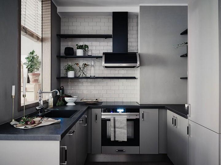 мебель для маленькой кухни фото 25