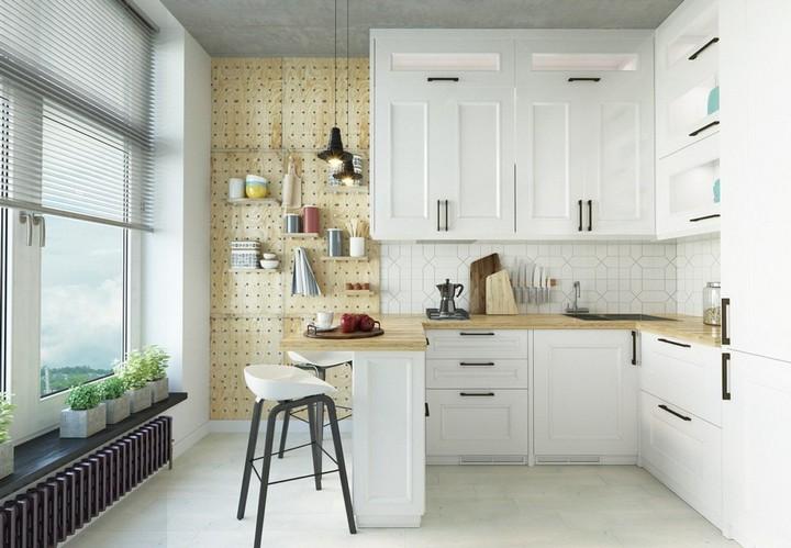 мебель для маленькой кухни фото 26