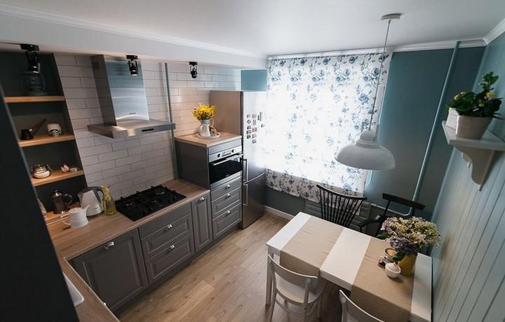 мебель для маленькой кухни фото 27