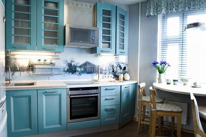 мебель для маленькой кухни фото 31
