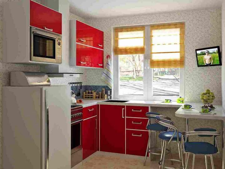 мебель для маленькой кухни фото 4